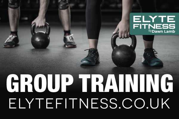 elite fitness website and marketing material designed by construct id